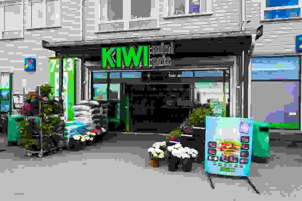 Nærområde; Kiwi dagligvareforretning som ligger rett ned for området