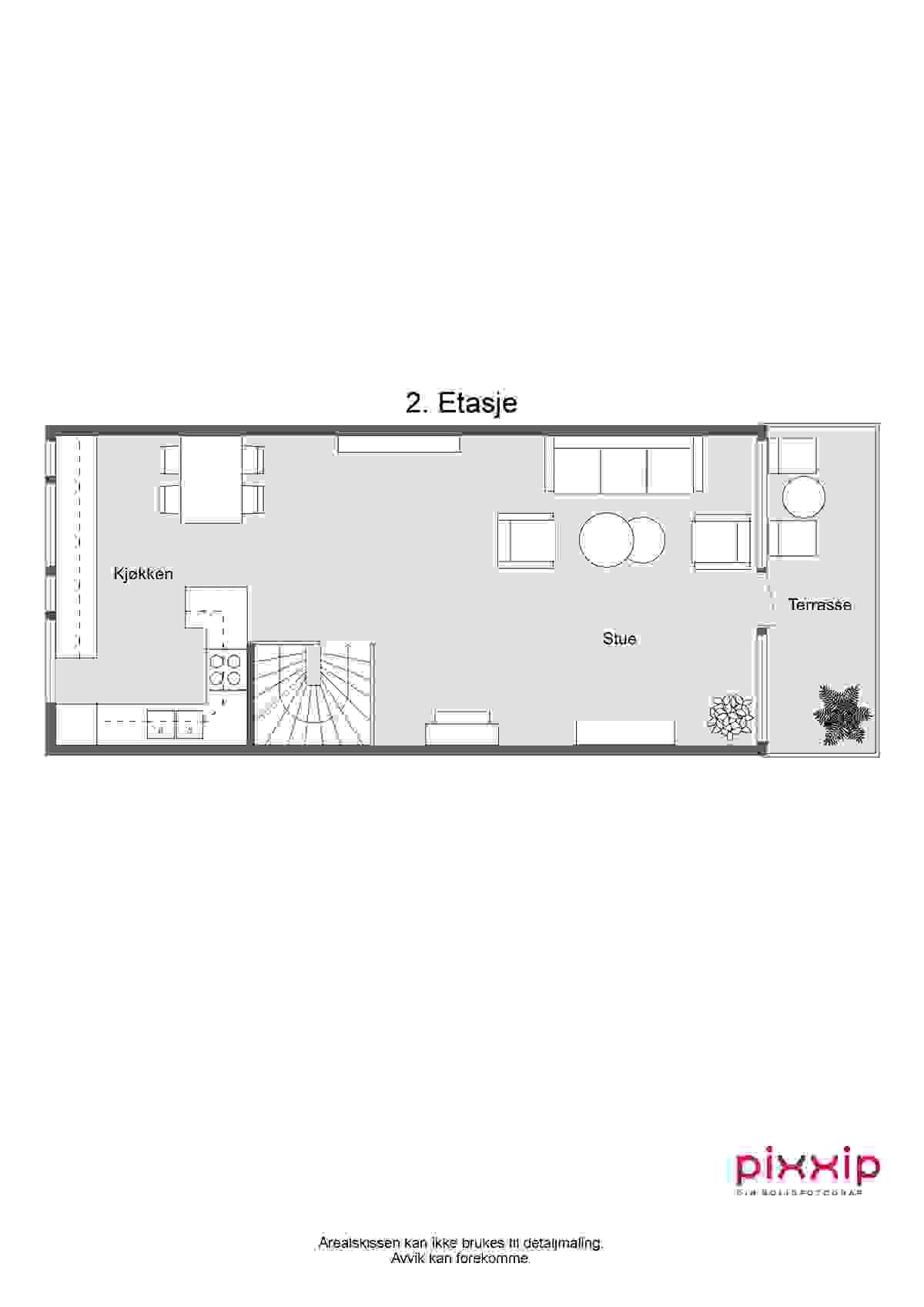 2d-plantegning 2. etasje
