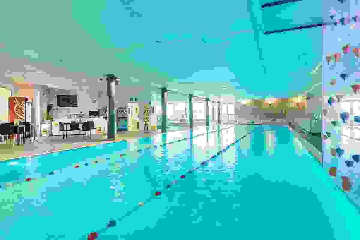 Badeanlegg i tilknytning til Level treningssenter