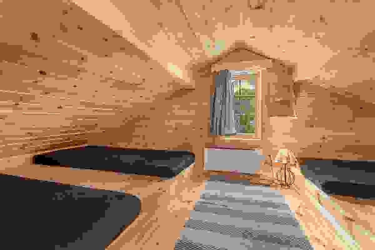 Godt med soveplass på hemsen