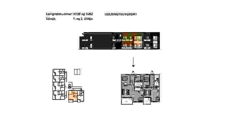 H0102 og H0202 - plantegning - illustrasjon