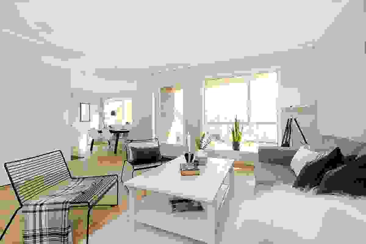 Stue med åpen kjøkkenløsning  - Burotveien 4B, H102