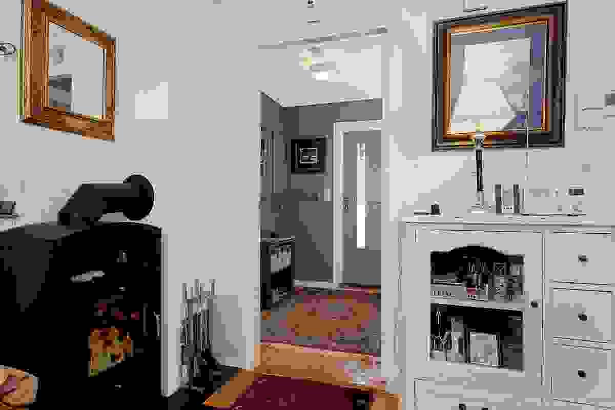 Peisovn i stuen