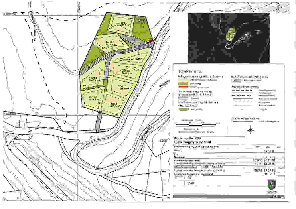 Reguleringsplan 473R Digerhaugmyra hyttefelt
