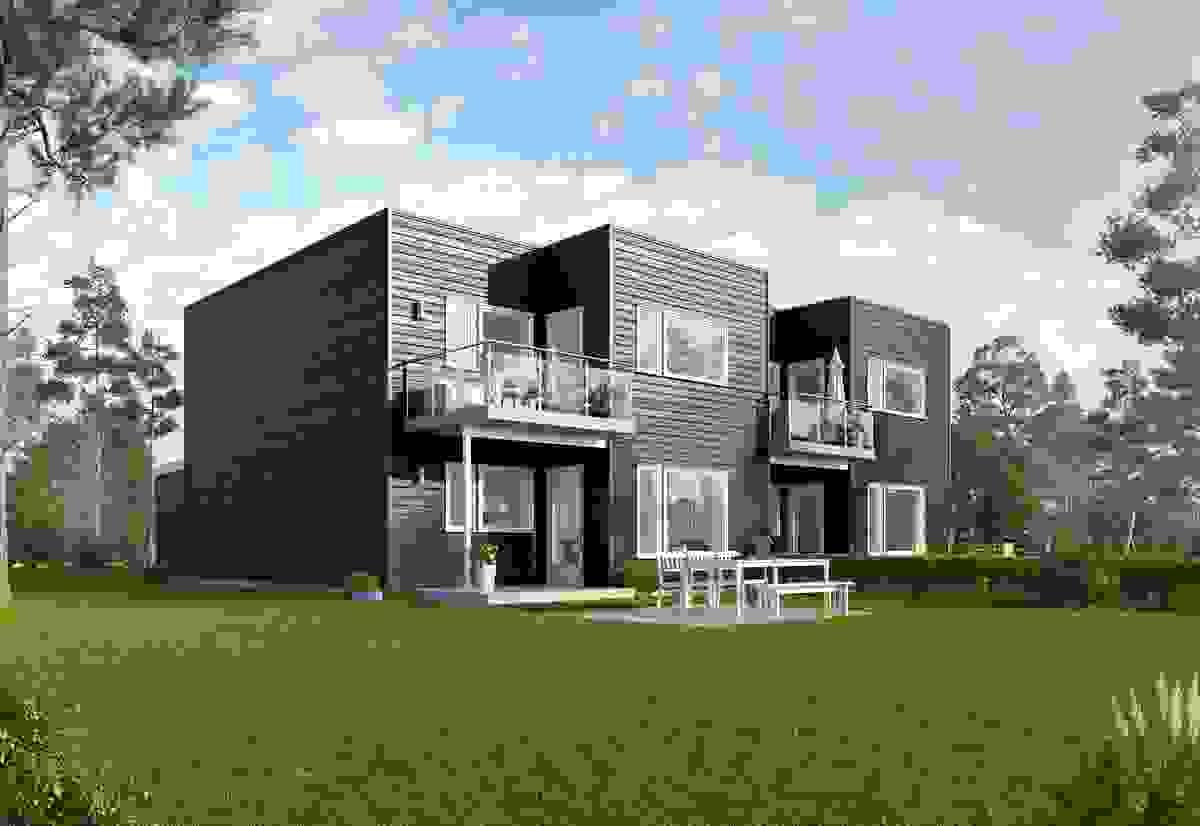 Fasade - illustrasjon
