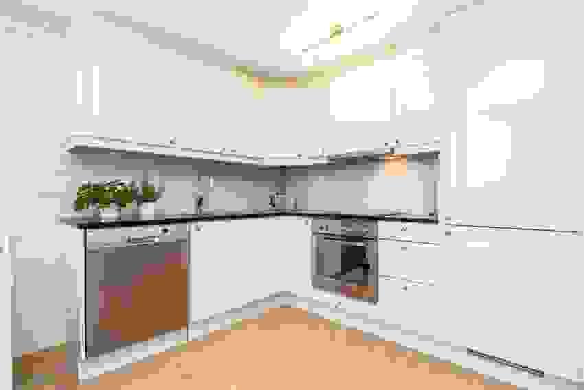 Praktisk kjøkkenkrok