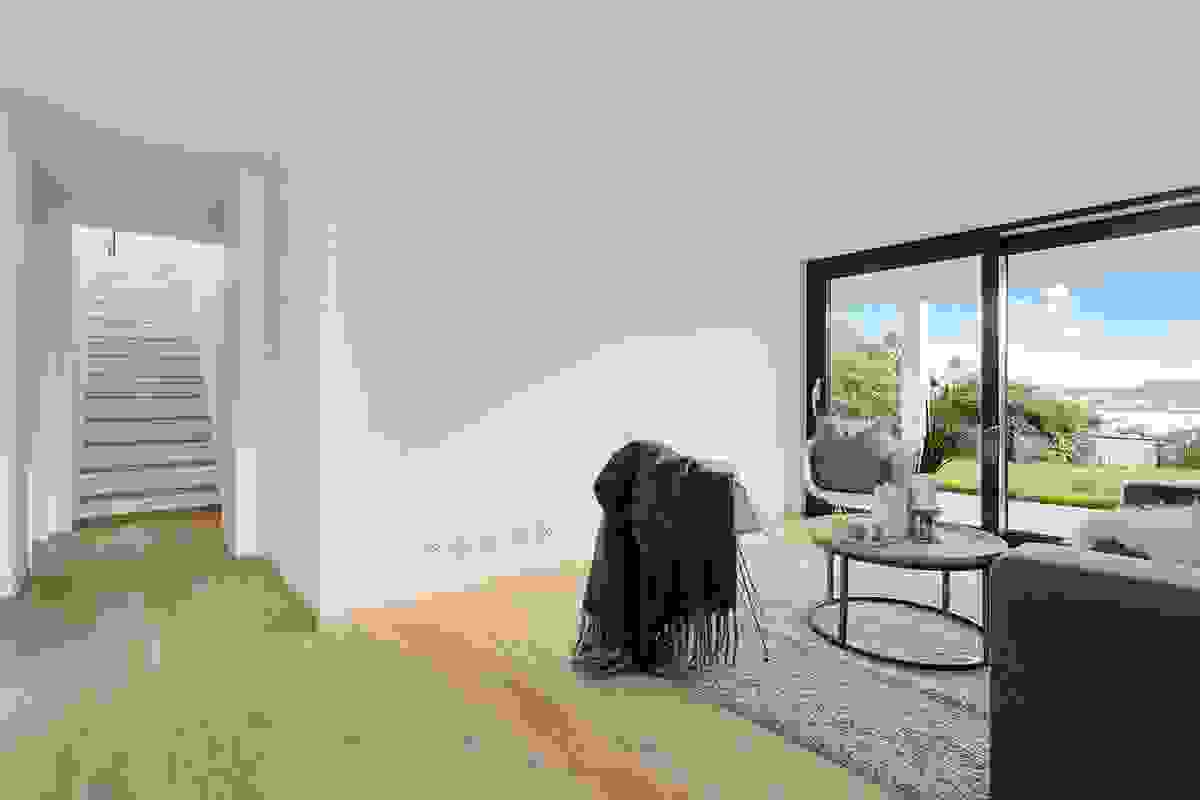 TV-stue i sokkeletasjen