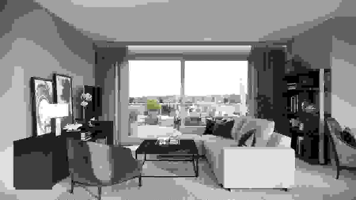 Store og høye vinduer