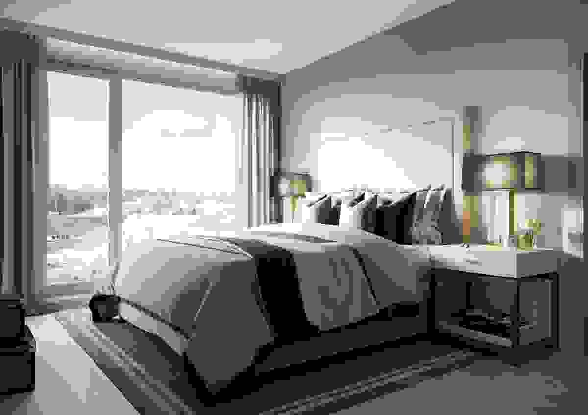 De fleste leilighetene kan leveres med 3 soverom hvis ønskelig