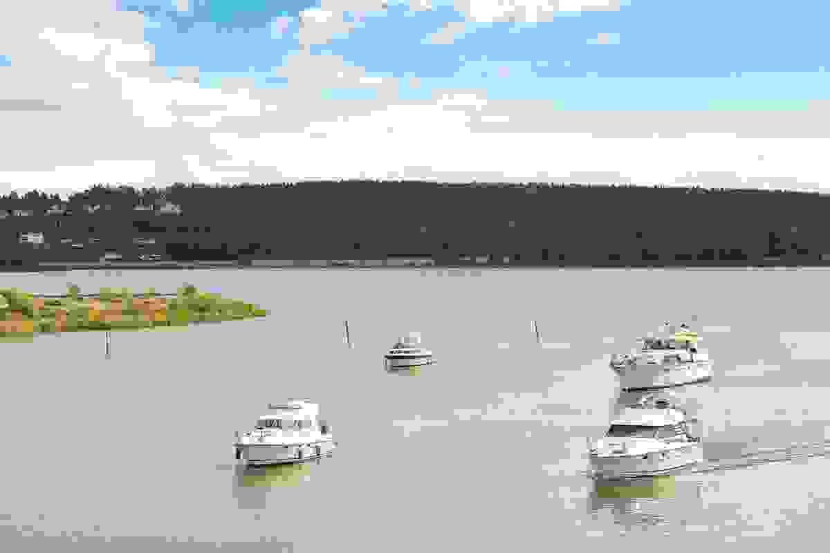 Stemning i Kanalen og Byfjorden