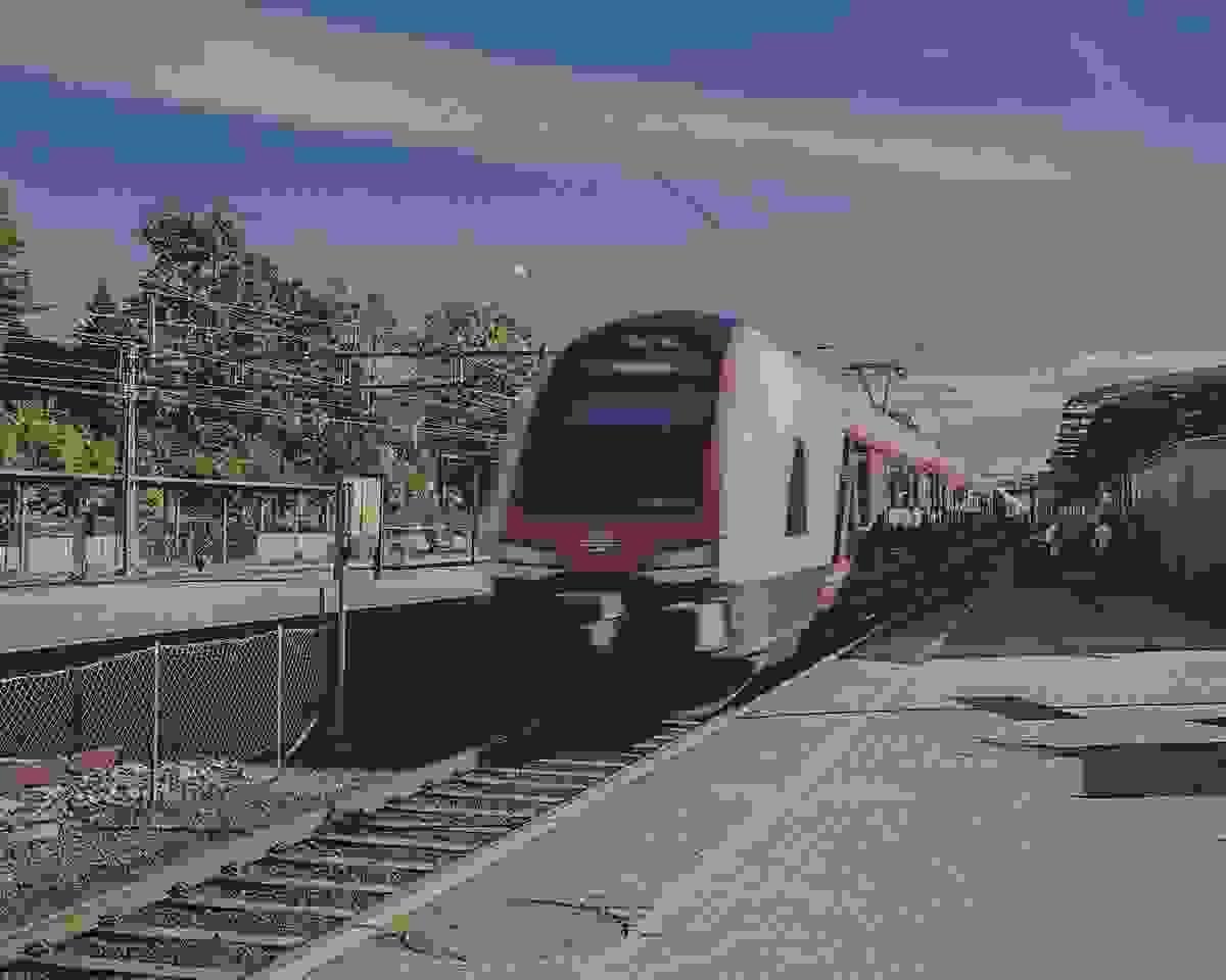 Nærområde; Kort vei til Jernbanestasjonen