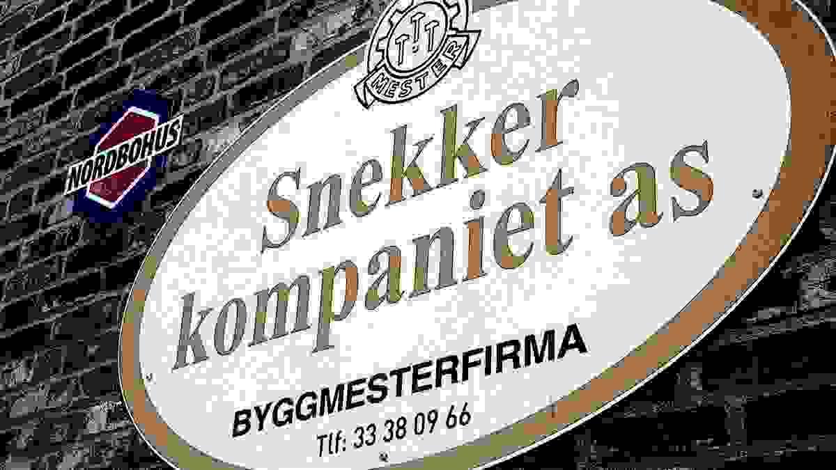 Boligene bygges av lokale Snkkerkompaniet AS i Tønsberg