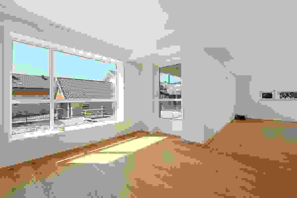 Stue med utgang til terrasse