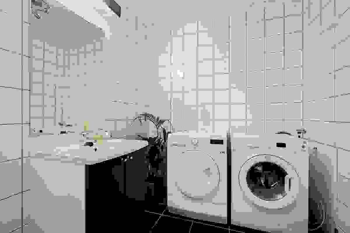 Vaskerom med wc i 1. etasje