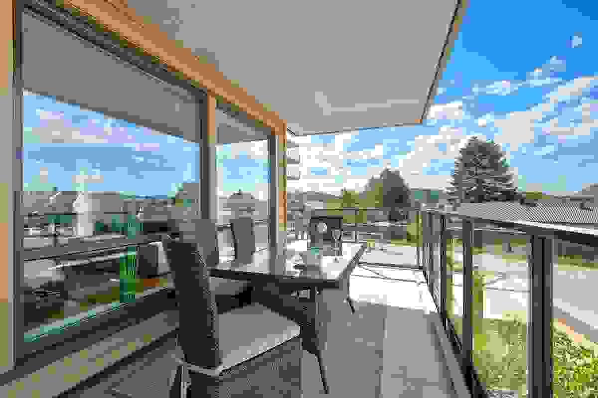 Deilig solrik balkong