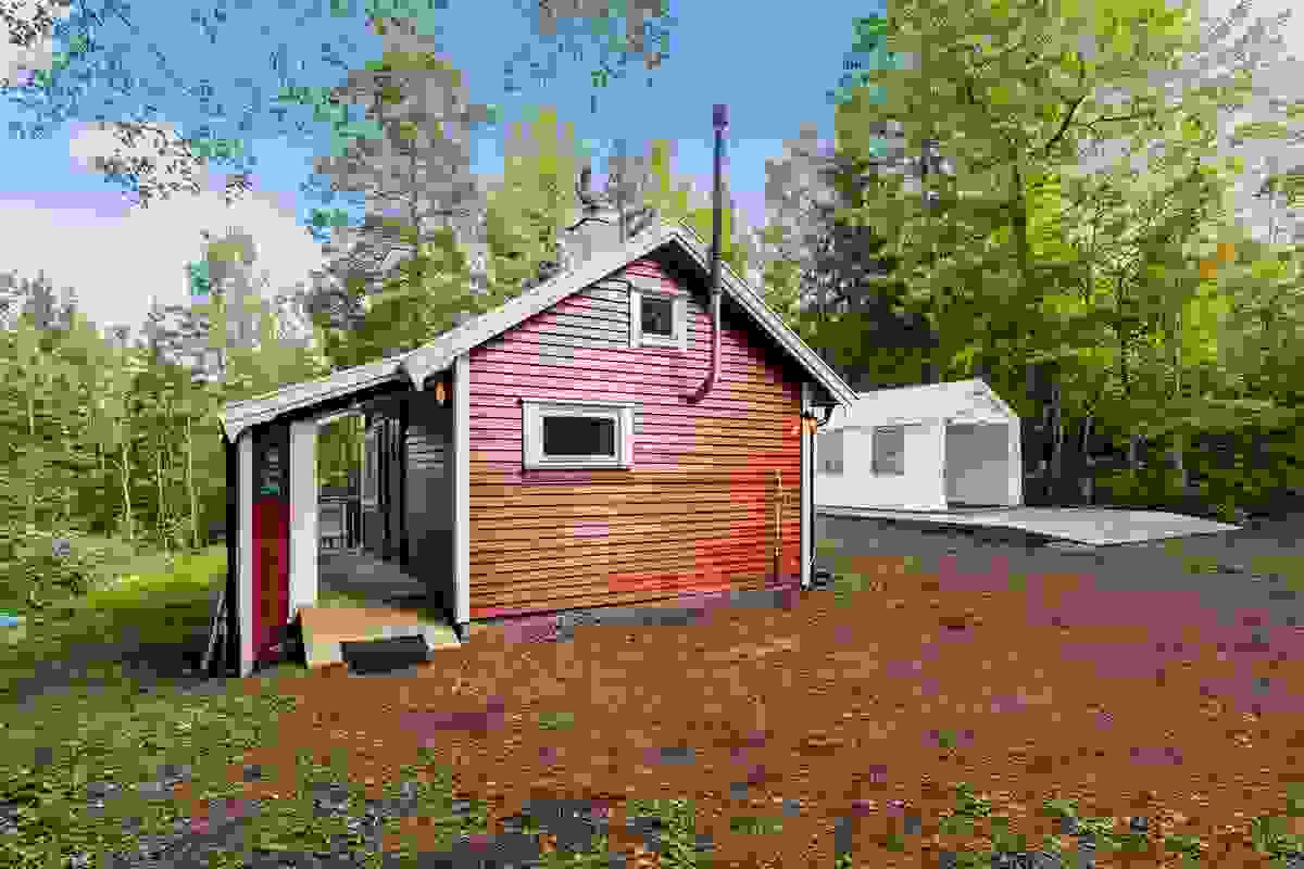 Koselig liten hytte