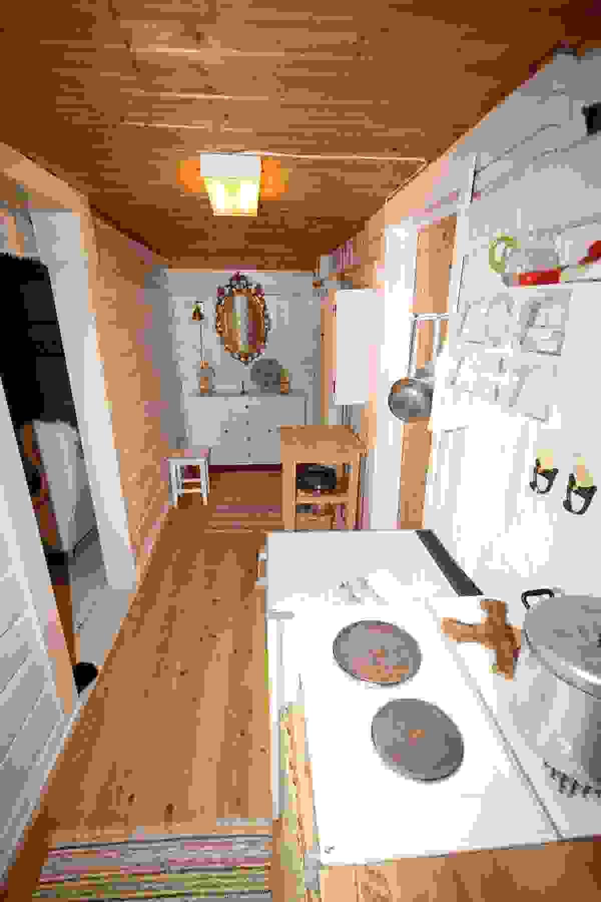 Kjøkken og vindfang