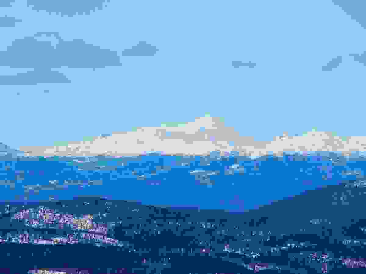 Områdebilde - Gaustadtoppen sett fra Styggemann