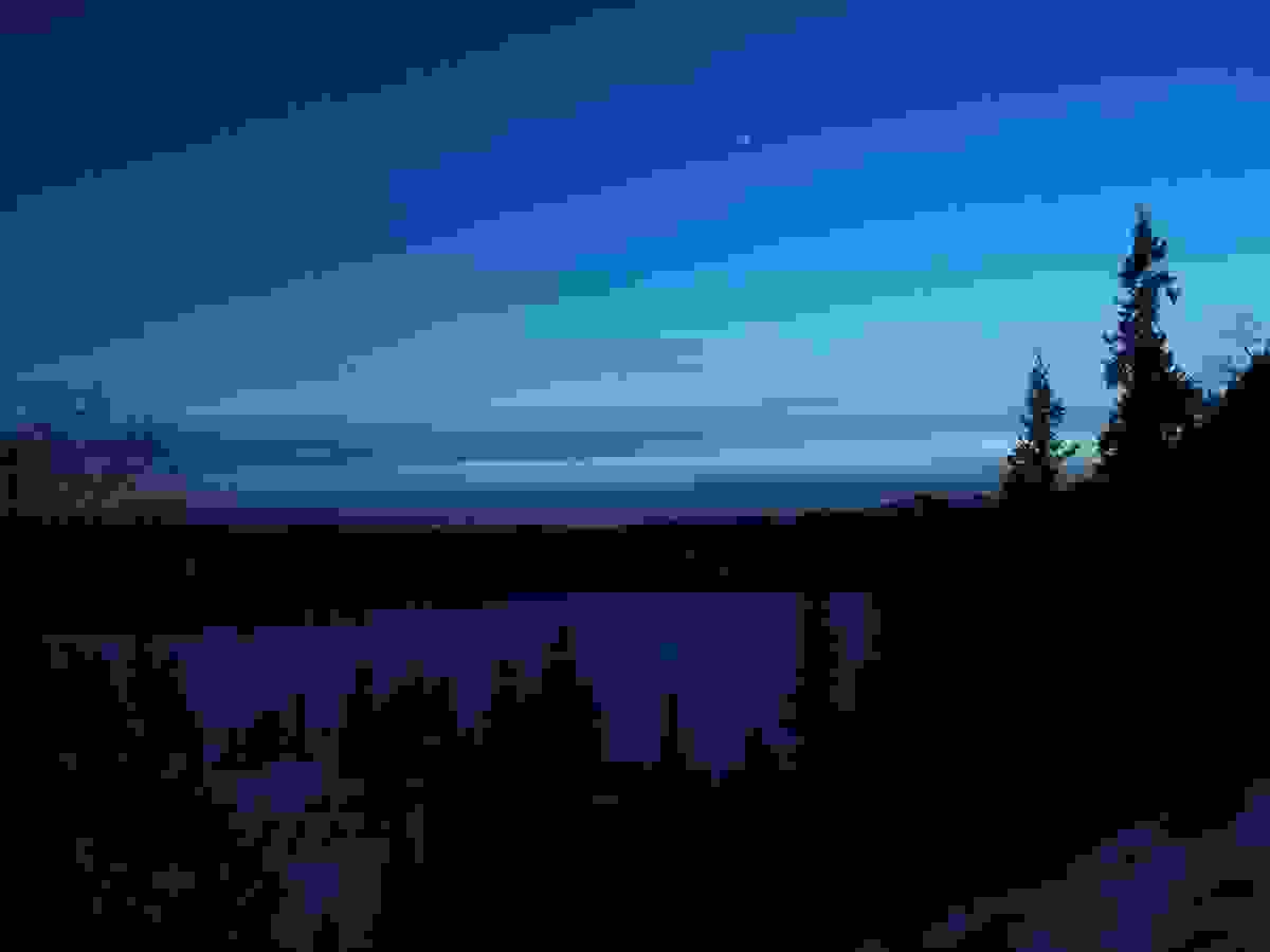 Områdebilde - Blå himmel over Stølevann
