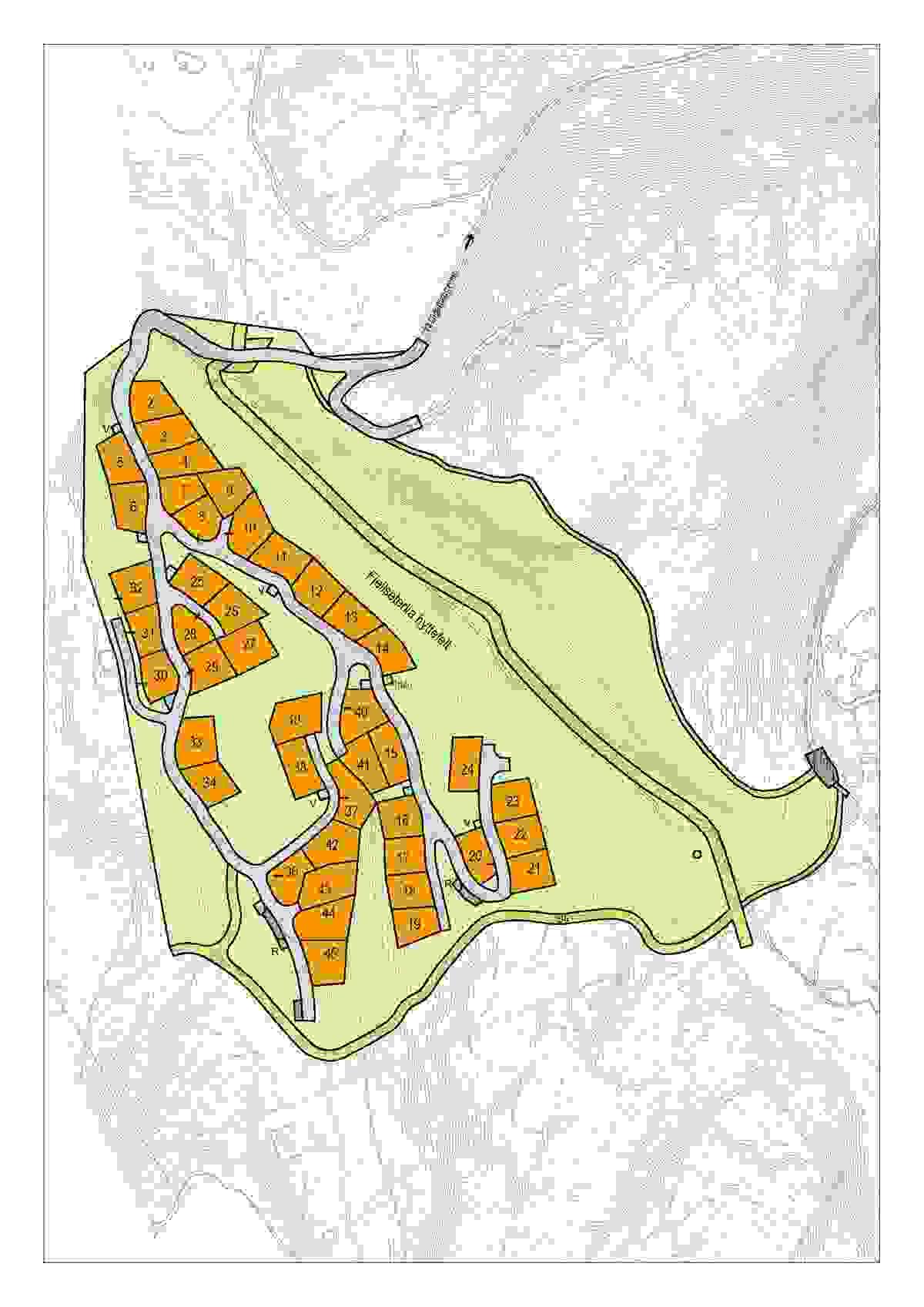 Kart - Skrim Fjellseter