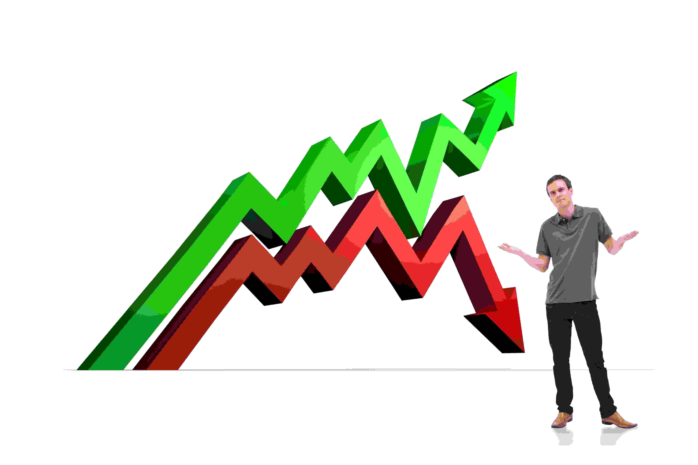 Har boligprisene gått opp eller ned?