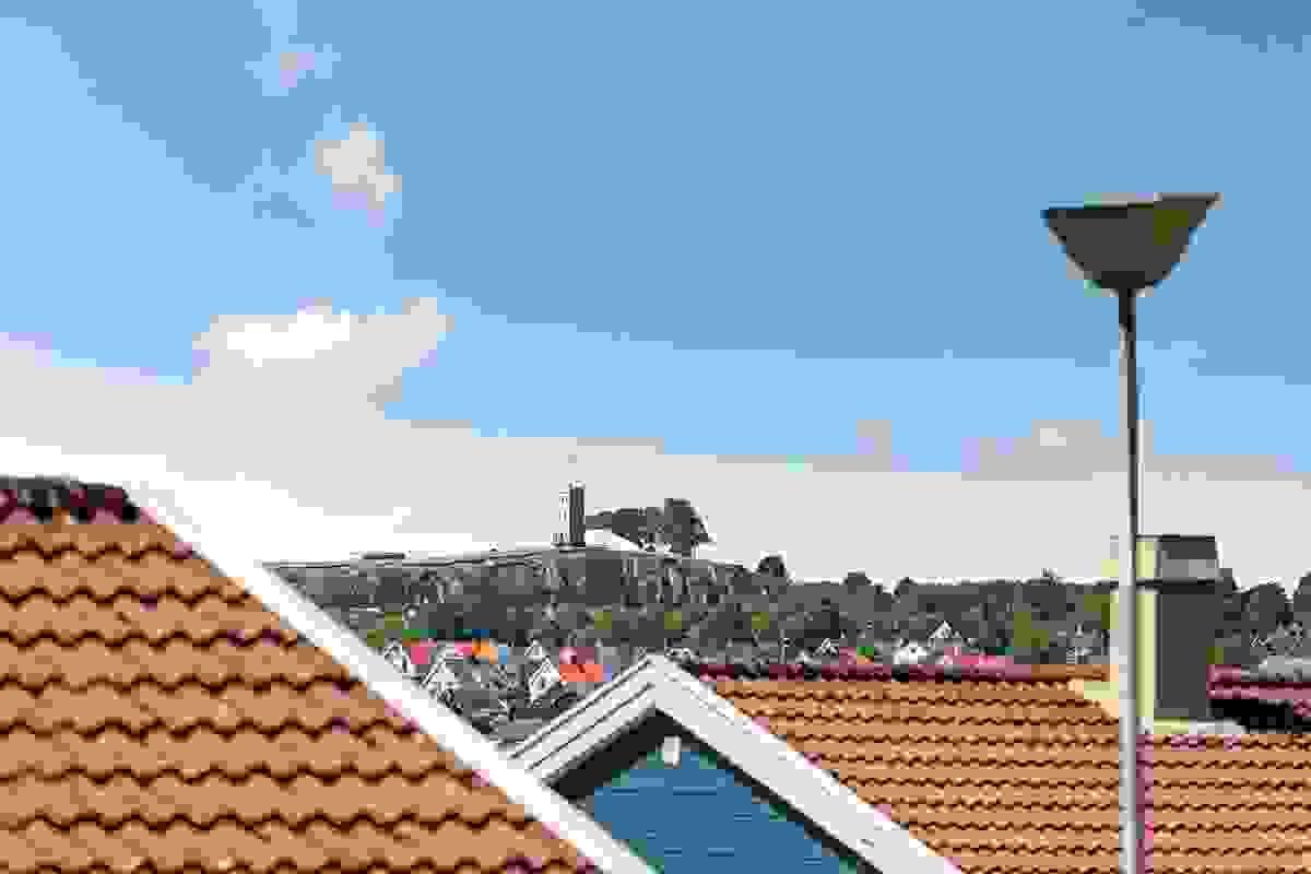 Utsikt mot Slottsfjellet