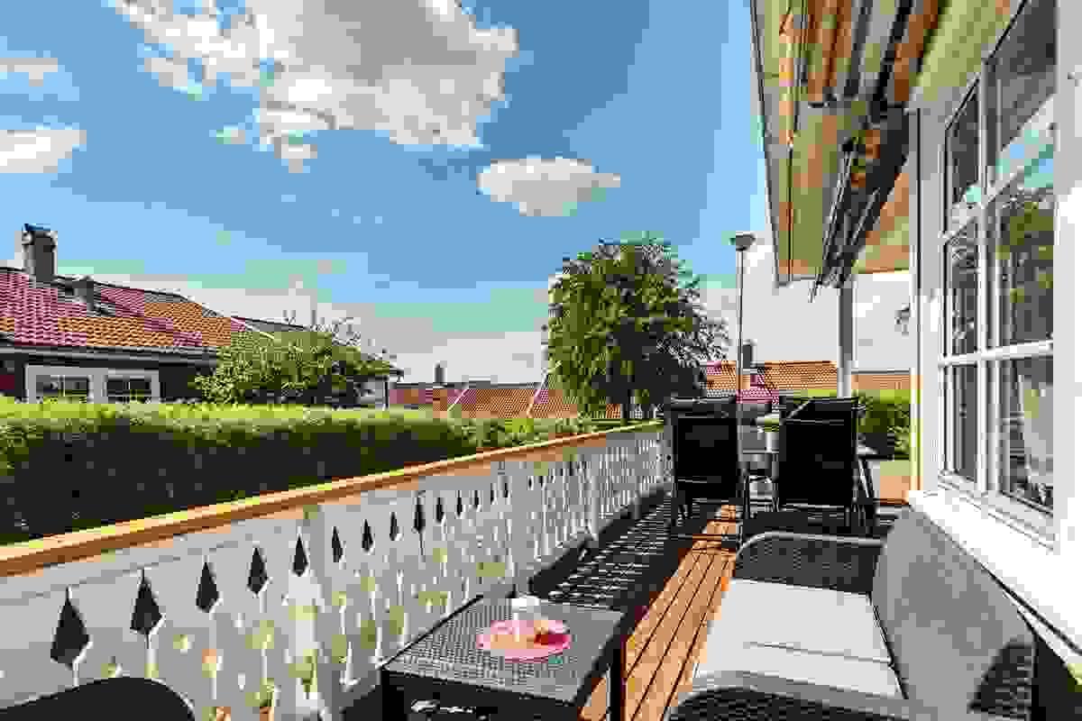 Markise på terrassen