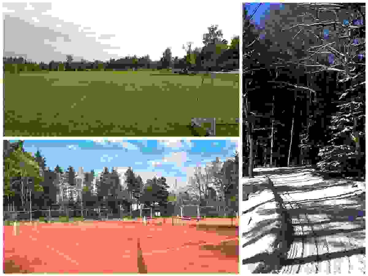 Nærområde; Kort vei til idrettsplasser og skiløyper
