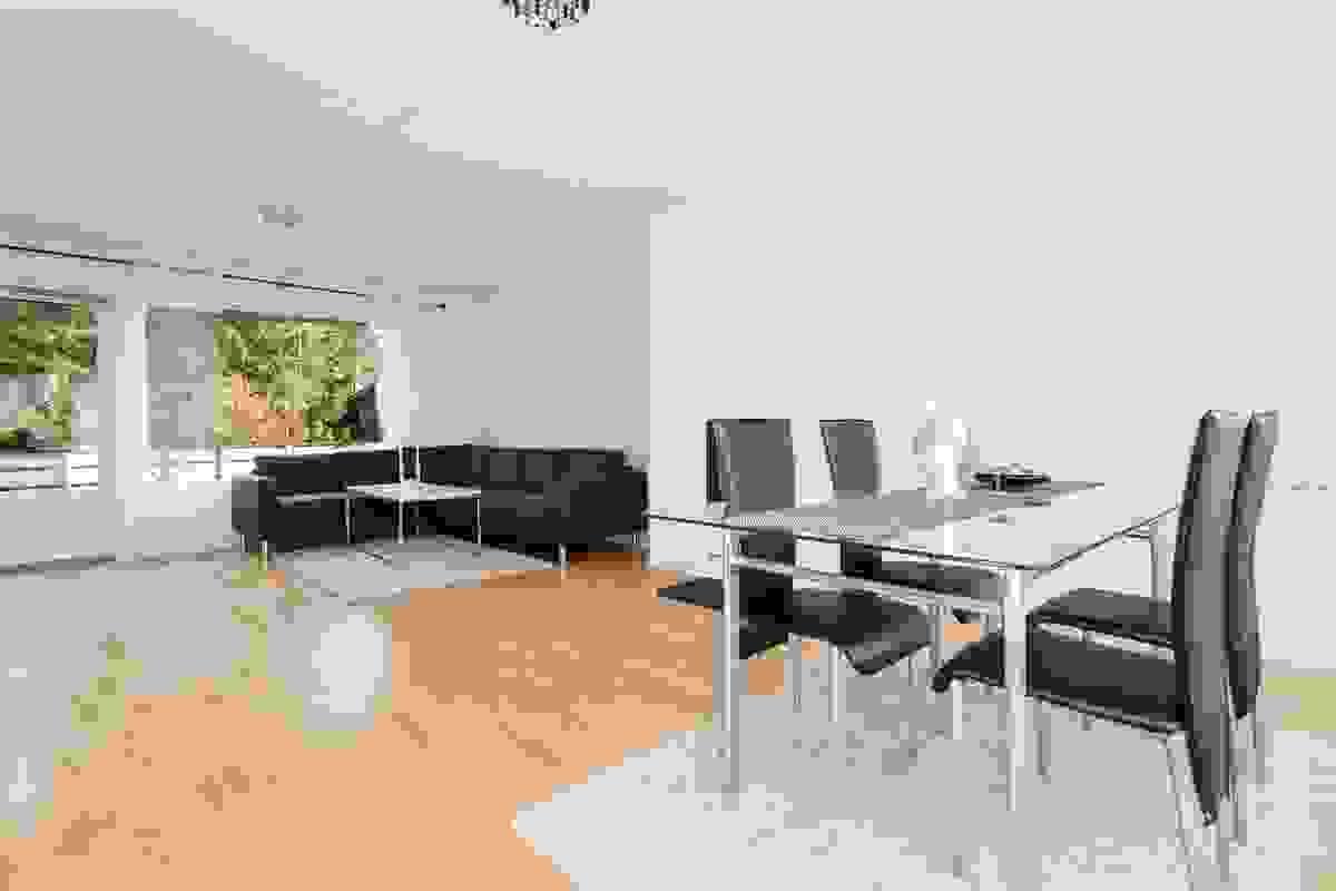 Her har du plass i massevis og fleksible møbleringsmuligheter