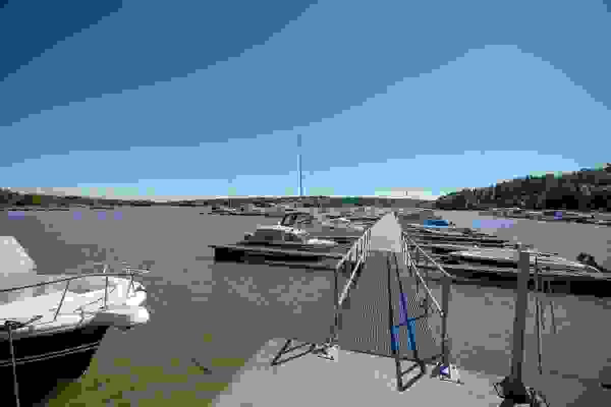 Nærområde; Båthavn på Storevahr