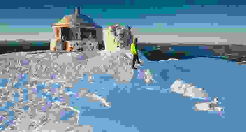 Områdebilde - Vinter på Styggemann
