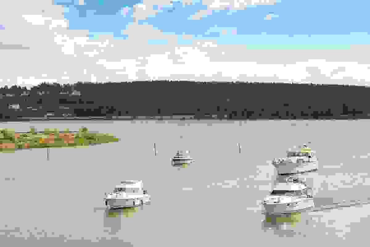 Småbåtlivet på Kanalen