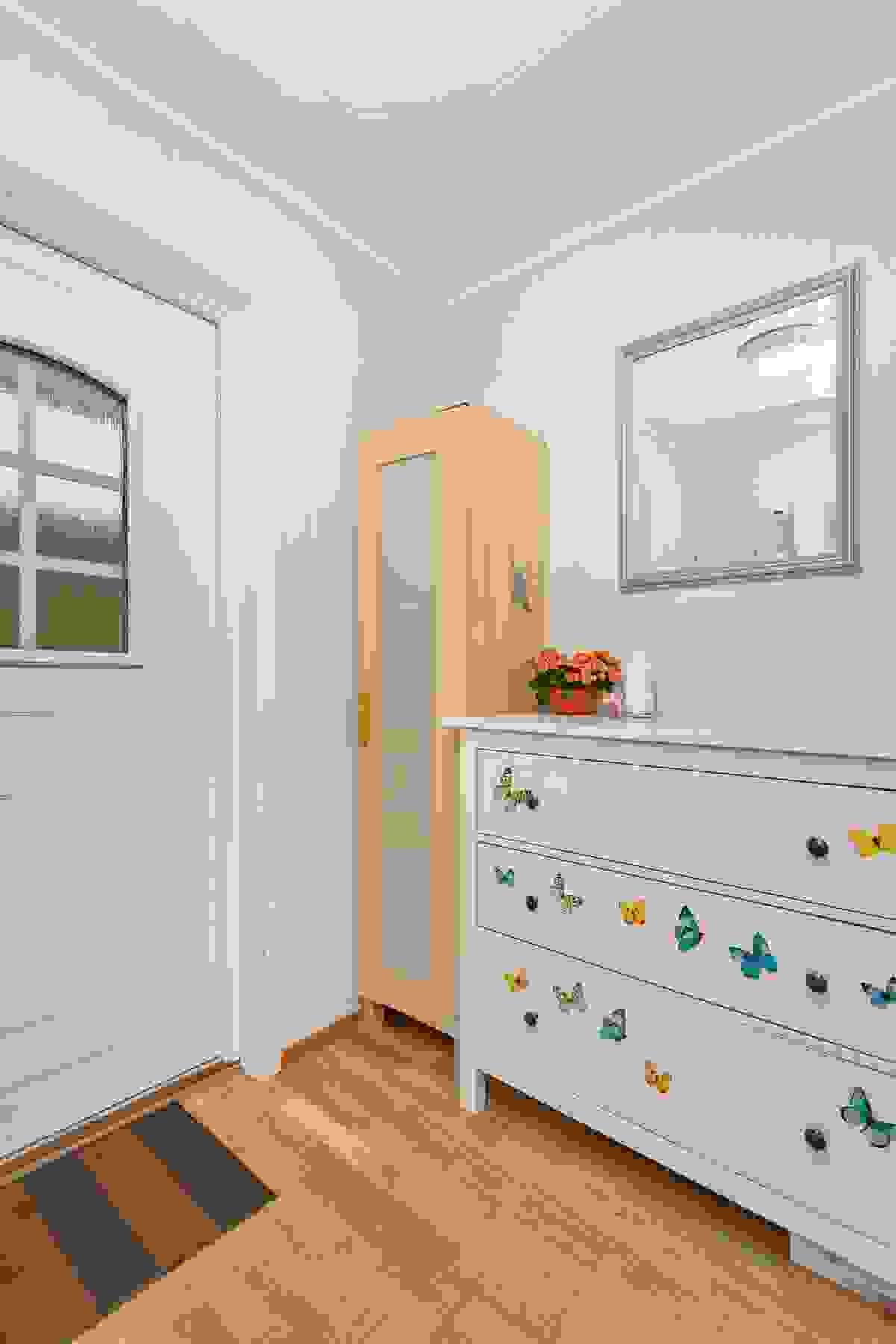 Inngangsparti og garderobegang