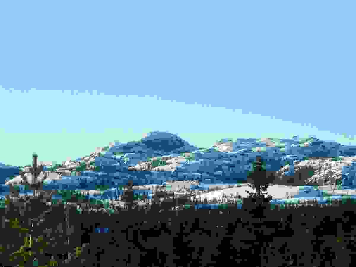 Områdebilde - Styggemann sett fra Fantefjell
