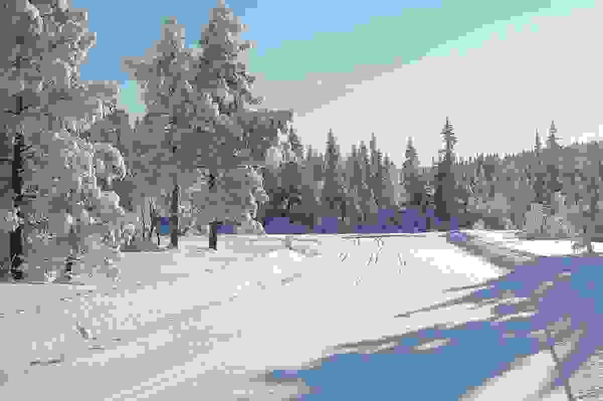 Områdebilde - Skispor