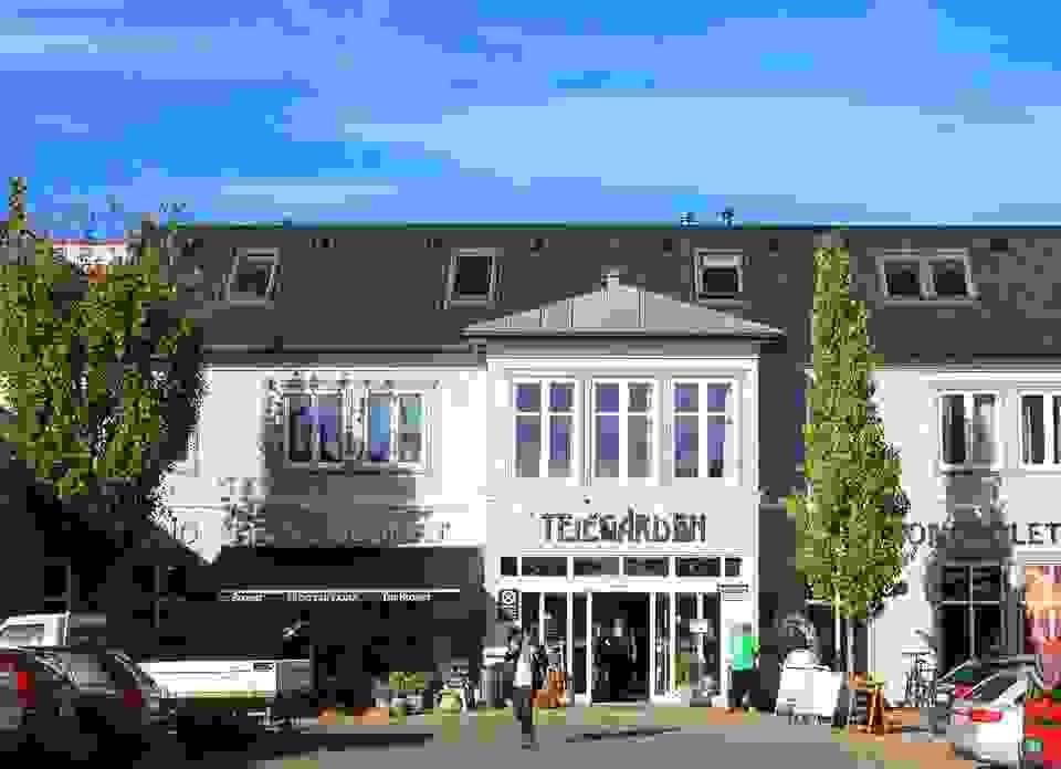 På Teie og Teiegården er det et stort utvalg butikker.