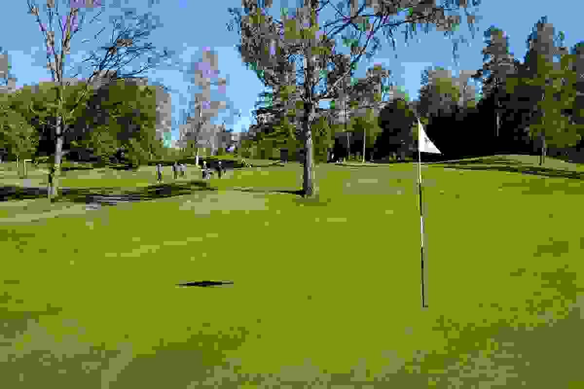 Nærområde - Golfbane på Vear