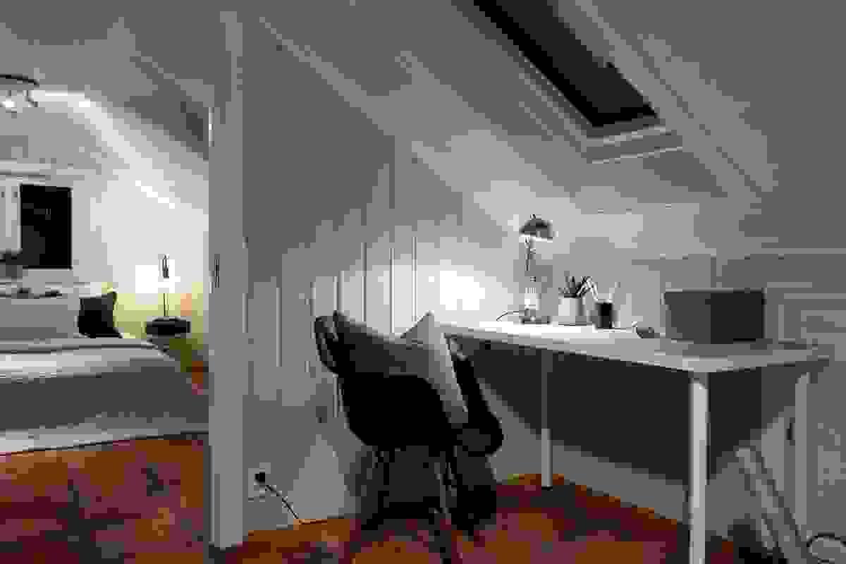 Kontor/gang i 3. etasje