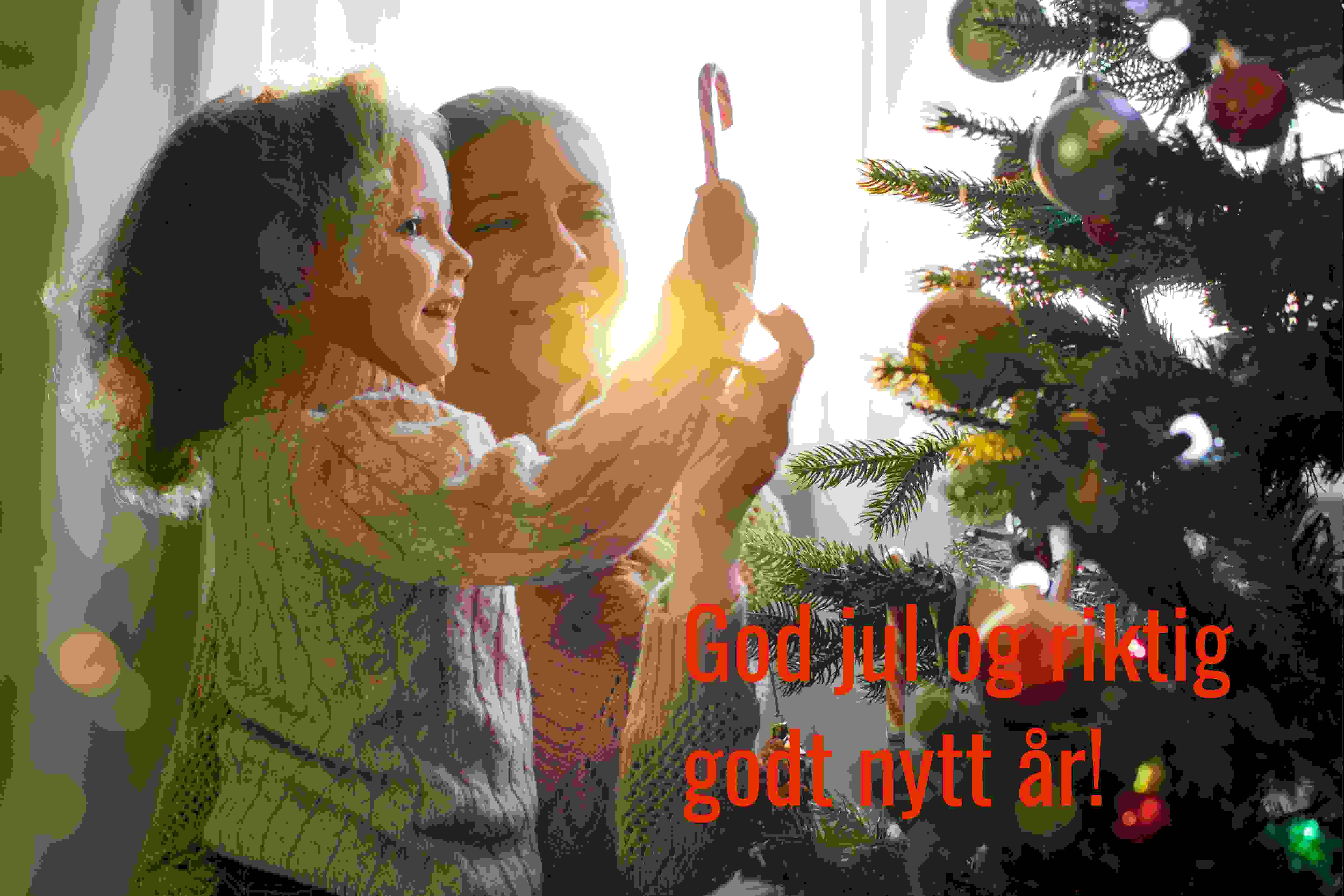 Vi ønsker alle en god jul