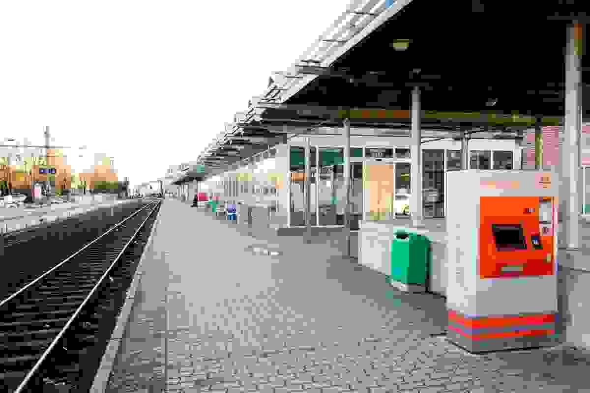 Tønsberg Jernbanestasjon ligger kun få minutters gange