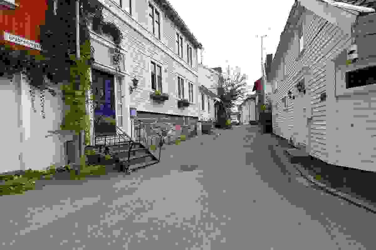Områdebilde fra Øvre Langgate