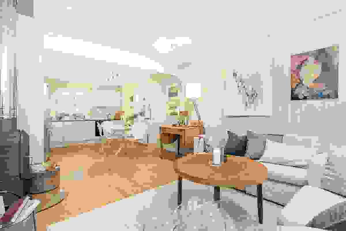 """En """"flytt rett inn"""" leilighet for deg som trenger en moderne og arealeffektiv leilighet"""