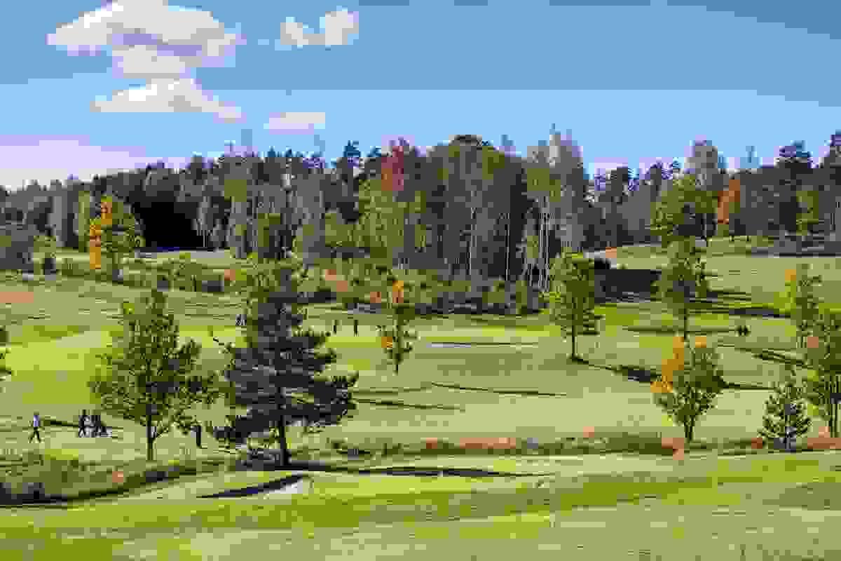 Nærområde; Nøtterøy golfbane på Borgheim