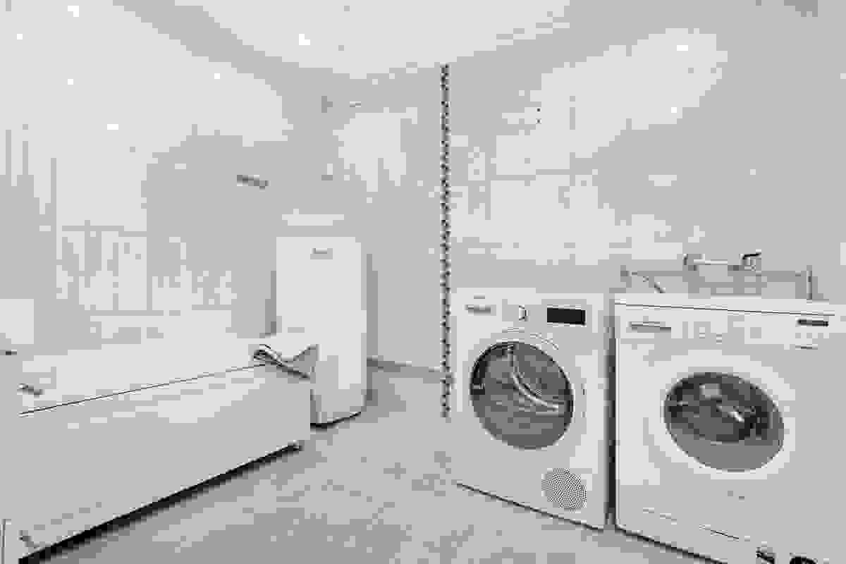 Baderom og vaskerom. VVB fra 2018