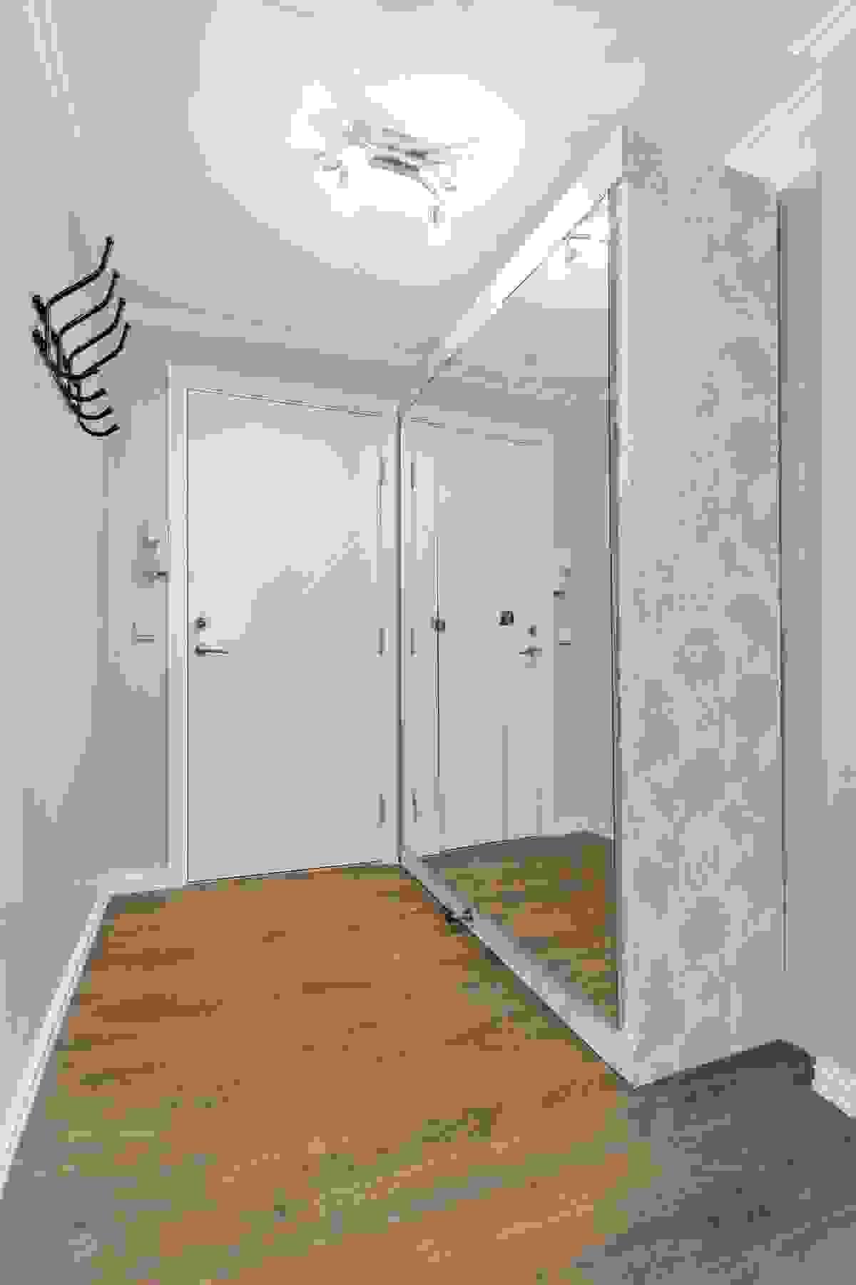 Inngangsparti med garderobeplass