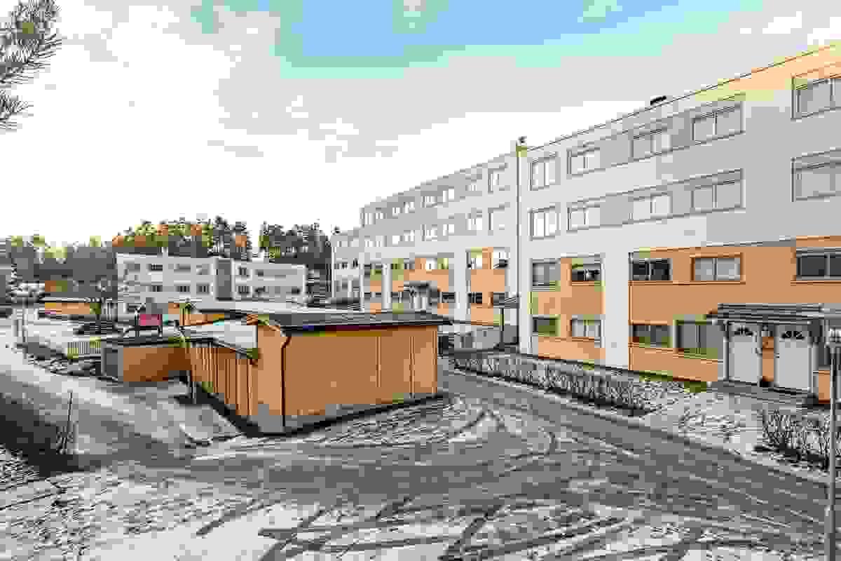 Fasade og bodhus