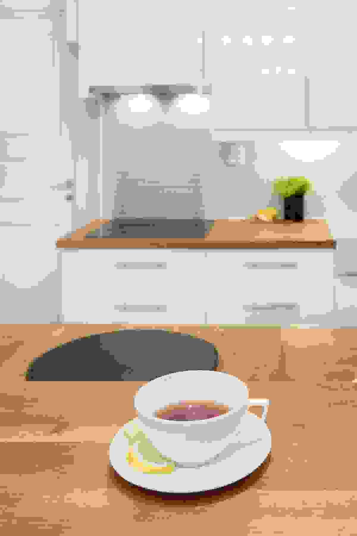 Kjøkkenet og spisestuen blir hjemmets naturlige samlingspunkt