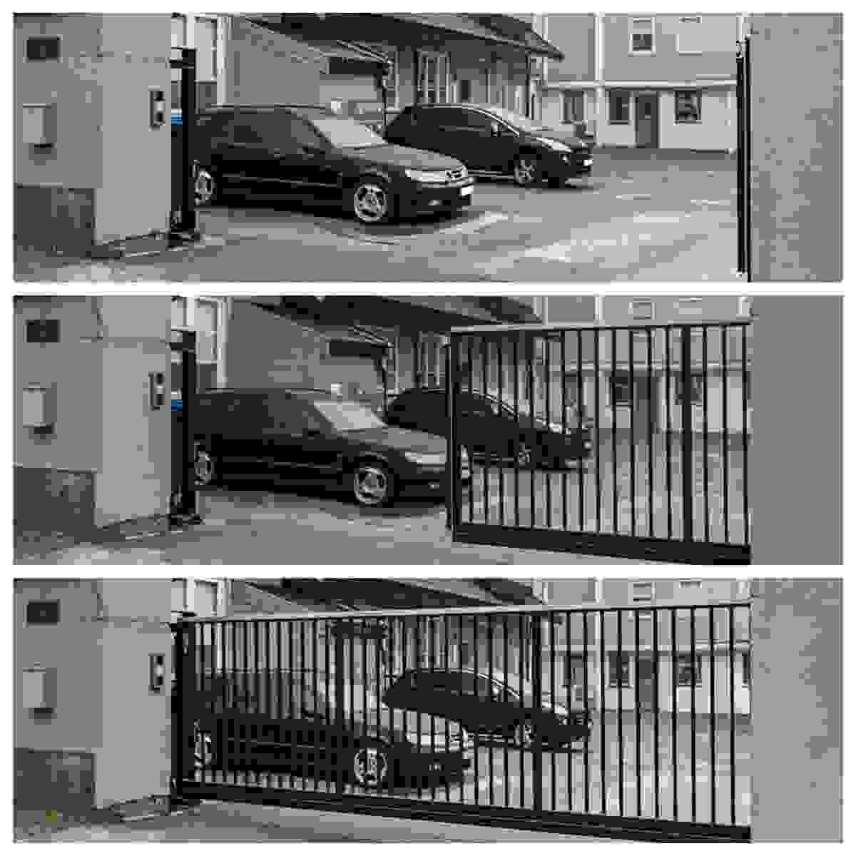 Egen parkeringsplass i lukket gårdsrom på eiendommen