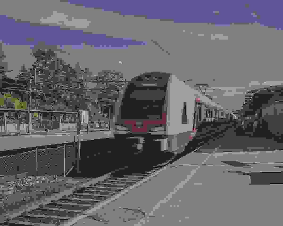 Nærområde; Tønsberg jernbanestasjon