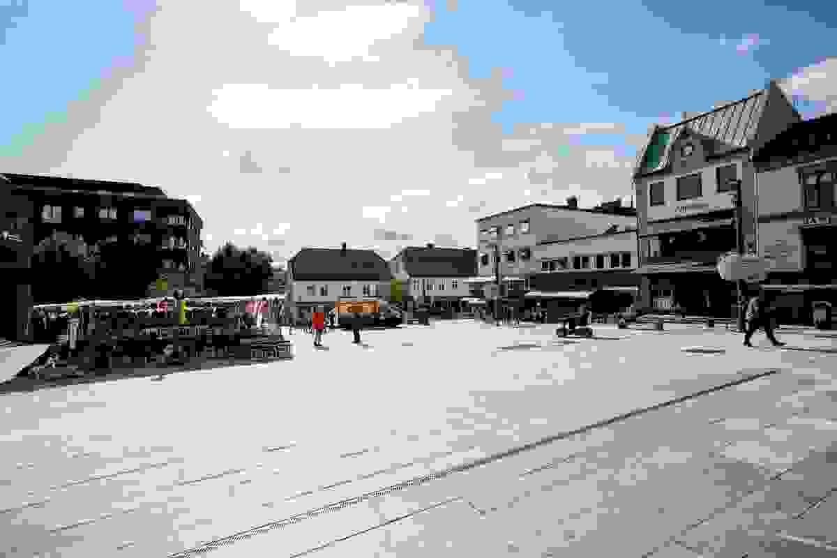 Nærområde; Tønsberg torv